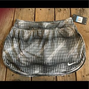 Nike Dri-Fit Athletic Skirt Skort New With Tags